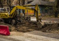 В Смоленске продолжаются ремонтные работы на улице Николаева