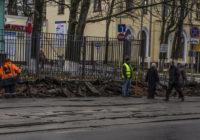 В Смоленске снова копают на улице Тенишевой