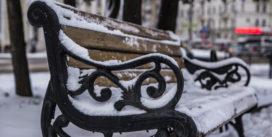 В Смоленск снова пришла зима
