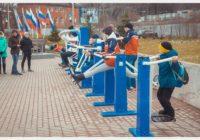 На Смоленской набережной появилась спортивная площадка
