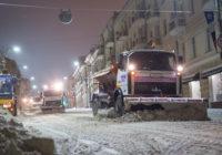 Смоленские коммунальщики в очередной раз не справились с уборкой снега