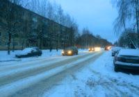 Смоленская область снова во власти мокрого снега