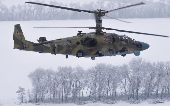 Полк армейской авиации вЗВО навсе 100% укомплектуют Ка-52 «Аллигатор»
