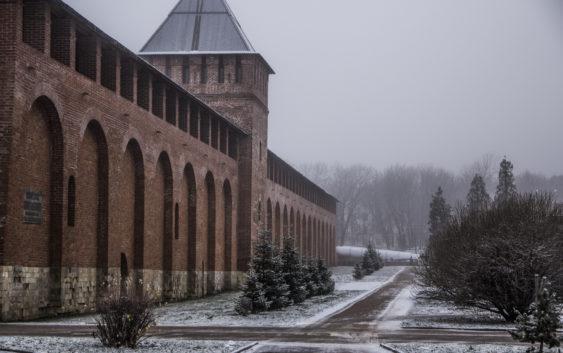 Смоленскую крепостную стену передадут РВИО. навсе 100%
