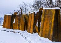 Закончены работы по благоустройству мемориального сквера на улице Ногина