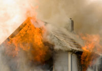 Юный вязьмич вынес из горящего дома своих братьев и сестру