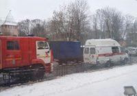 На улице Дзержинского собрались спецслужбы из-за звонка о теракте
