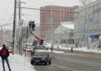 В Смоленске продолжают устанавливать видеокамеры