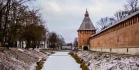 Зима возвращается в Смоленск