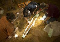 В Москве исследуют тысячелетний меч, обнаруженный при раскопках в Гнездове