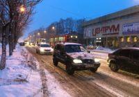 На улице Николаева встали трамваи