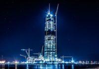 Самое высокое здание Европы «Лахта-Центр» достигло финальной высоты в 462 метра