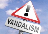 В Смоленске вандалы сломали иллюминацию в центре города