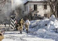 В День защитника Отечества в Смоленске разыгрались военные действия