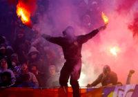 Футбольные фанаты осквернили смоленскую крепостную стену