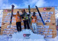 Лыжник из Смоленск занял третье место в первом этапе чемпионата Freeride World Tour в Канаде