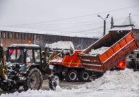 Ночью Смоленск засыпало снегом