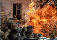 В Смоленске сегодня штурмом брали барак