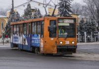 В Промышленном районе Смоленска встали трамваи