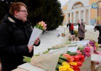 Смоленские чиновники борются с продавцами цветов