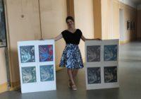 Во Франции откроется выставка молодой смоленской художницы