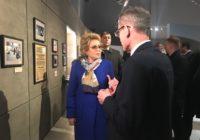 Валентина Матвиенко и Владимир Мединский посетили Катынь