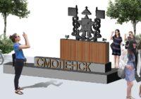 Арт-объект в виде герба появится в парке на Ломоносова