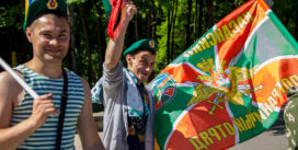 Как в Смоленске отмечают 100-летие пограничных войск