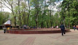 В Смоленске вновь отключили фонтан на Блонье