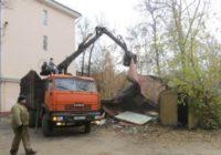 В Смоленске продолжается демонтаж незаконных построек