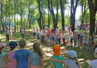 В центре Смоленска появилась новая детская площадка