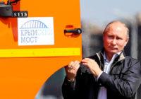 Поехали! Путин открыл Крымский мост