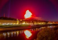 День Победы в Смоленске завершился салютом и фейерверком