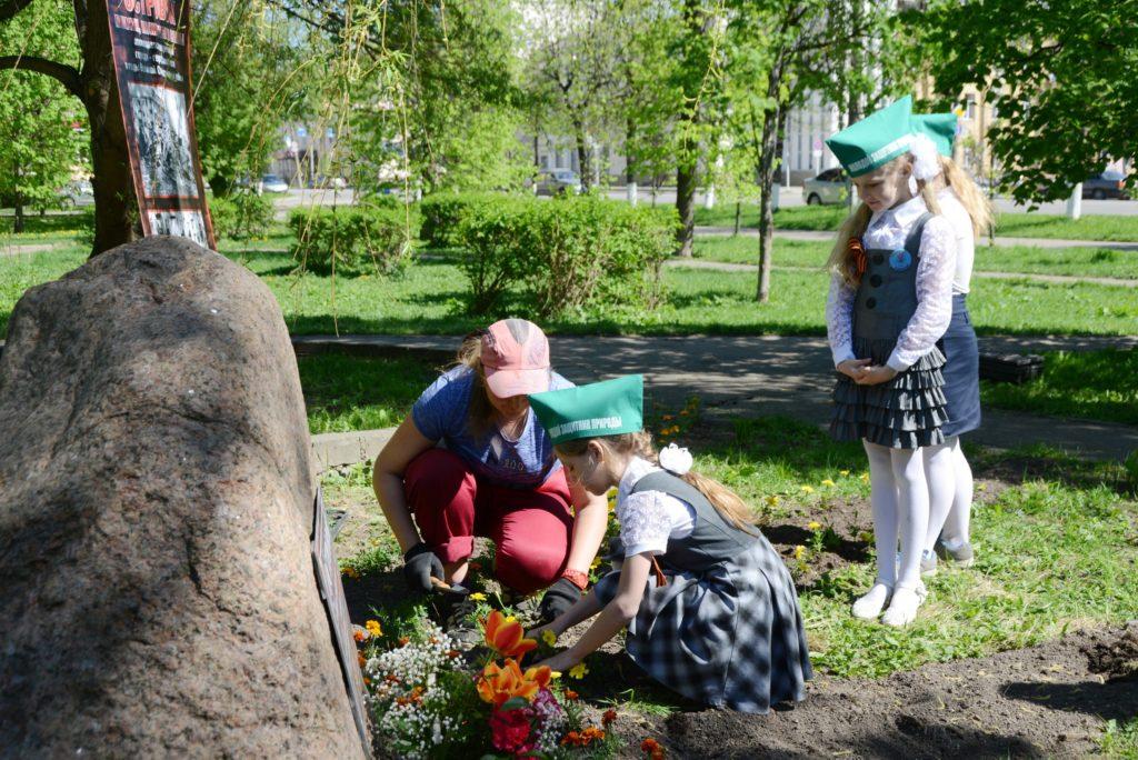 Напроспекте Гагарина вСмоленске был открыт «Островок памяти, мужества иславы»