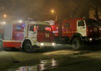 В Смоленске при пожаре пострадала женщина
