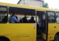 В Гагарине вышел в рейс автобус без окон