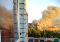 В Гагагрине горящий автомобиль едва не спалил дом