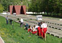 Более ста кедров высадили на мемориале Смоленска