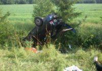 В Гагаринском районе водитель погиб, совершая обгон