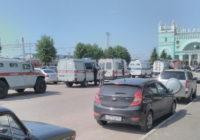 В Смоленске спецслужбами оцеплены несколько улиц