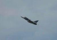 Полёты авиационной эскадрильи в Шаталово попали на видео