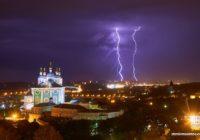 На Смоленскую область надвигаются грозы
