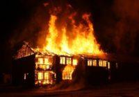 Ночной пожар в Смоленске закончился трагедией