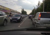 Очередные ремонты «Квадры» стали причиной пробок на дорогах