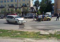 В Смоленске ДТП на проспекте Гагарина парализовало движение трамваев