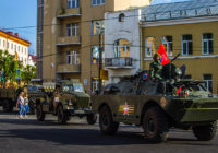Бронепробег «Дорога мужества-2018» посетил Смоленск