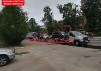 В Смоленске эвакуируют машины возле военной академии