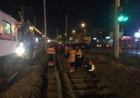 В Смоленске меняют трамвайные пути на улице Рыленкова