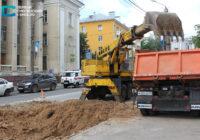 На Дзержинского снова начались «раскопки»