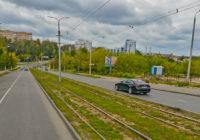 В районе дамбы на Нахимова реконструируют трамвайные пути